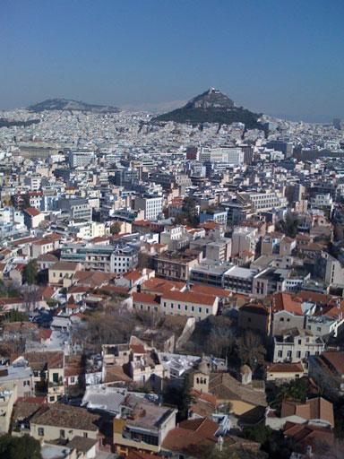 ゲシュタルトのワークショップで訪れたギリシャ・アテネのリカヴィトスの丘